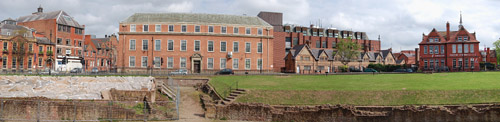 Pano of Chester Amphitheatre
