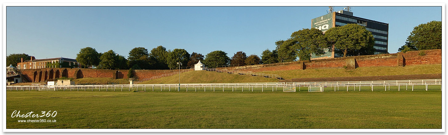 Panoramic Image of The Roodee Racecourse